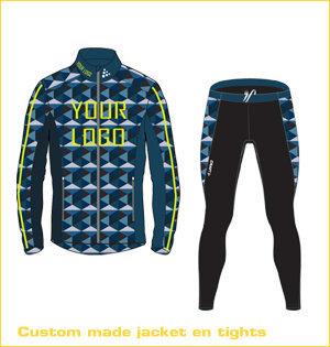 custom made jacket en tights