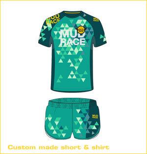 custom made short en shirt