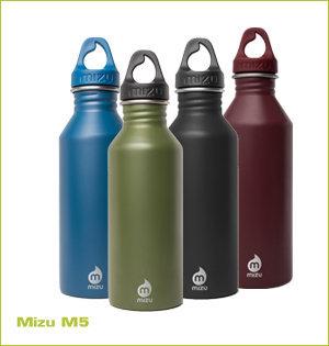 rvs waterfles bedrukken - voorbeeld: Mizu M5
