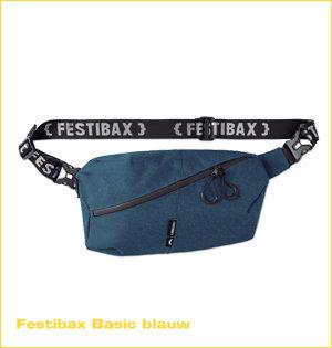 festibax heuptas bedrukken - voorbeeld: festibax basic blauw 1