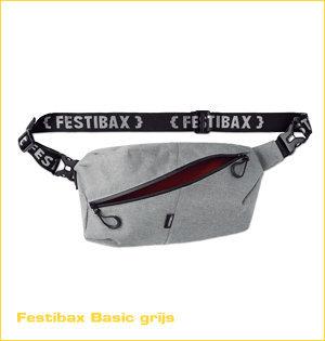 festibax heuptas bedrukken - voorbeeld: festibax basic grijs
