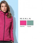 recycled fleece jacket Ava women