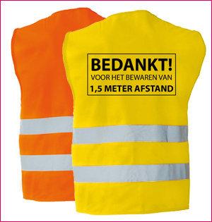 veiligheidshesje geel oranje