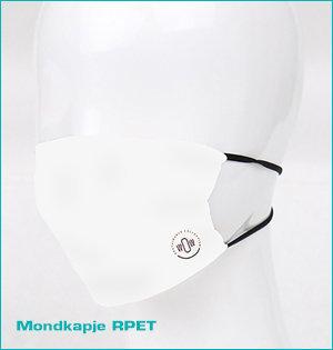 mondmaskers bedrukken - voorbeeld: mondkapje RPET