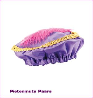 Pietenmuts paars bedrukken