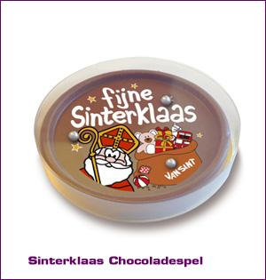 Sinterklaas Chocoladespel bedrukken