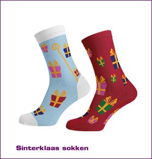 Sinterklaas sokken met logo