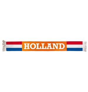 Oranje Holland sjaal